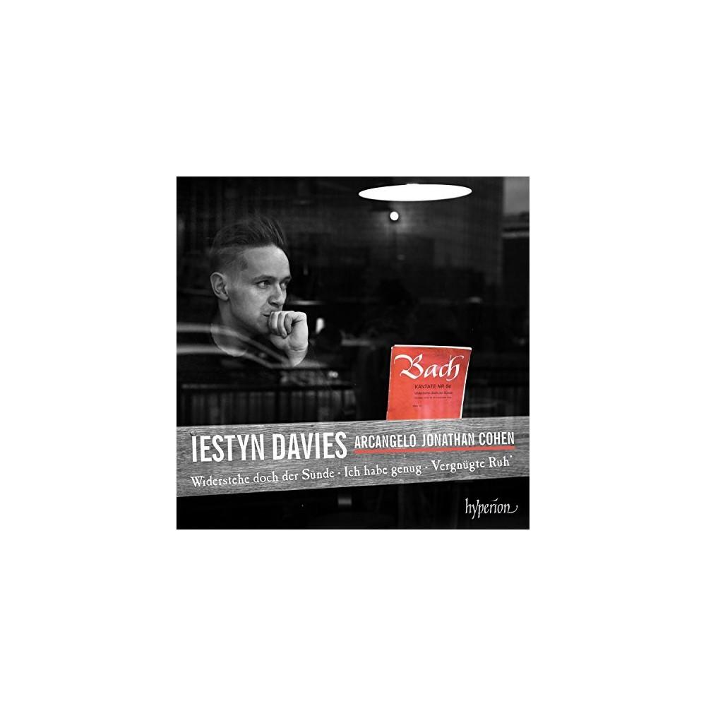 Iestyn Davies - Bach:Cantatas Nos 52 54 82 & 170 (CD)