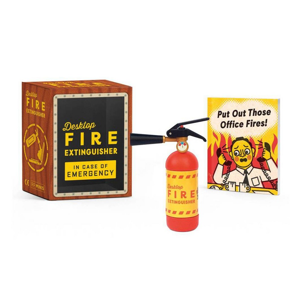 Desktop Fire Extinguisher Rp Minis By Sarah Royal Paperback