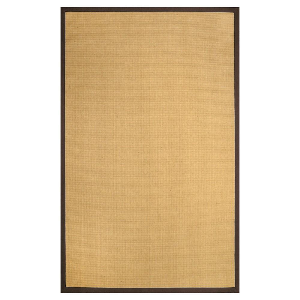 nuLOOM Laurel Jute Area Rug - Brown (6' x 9')