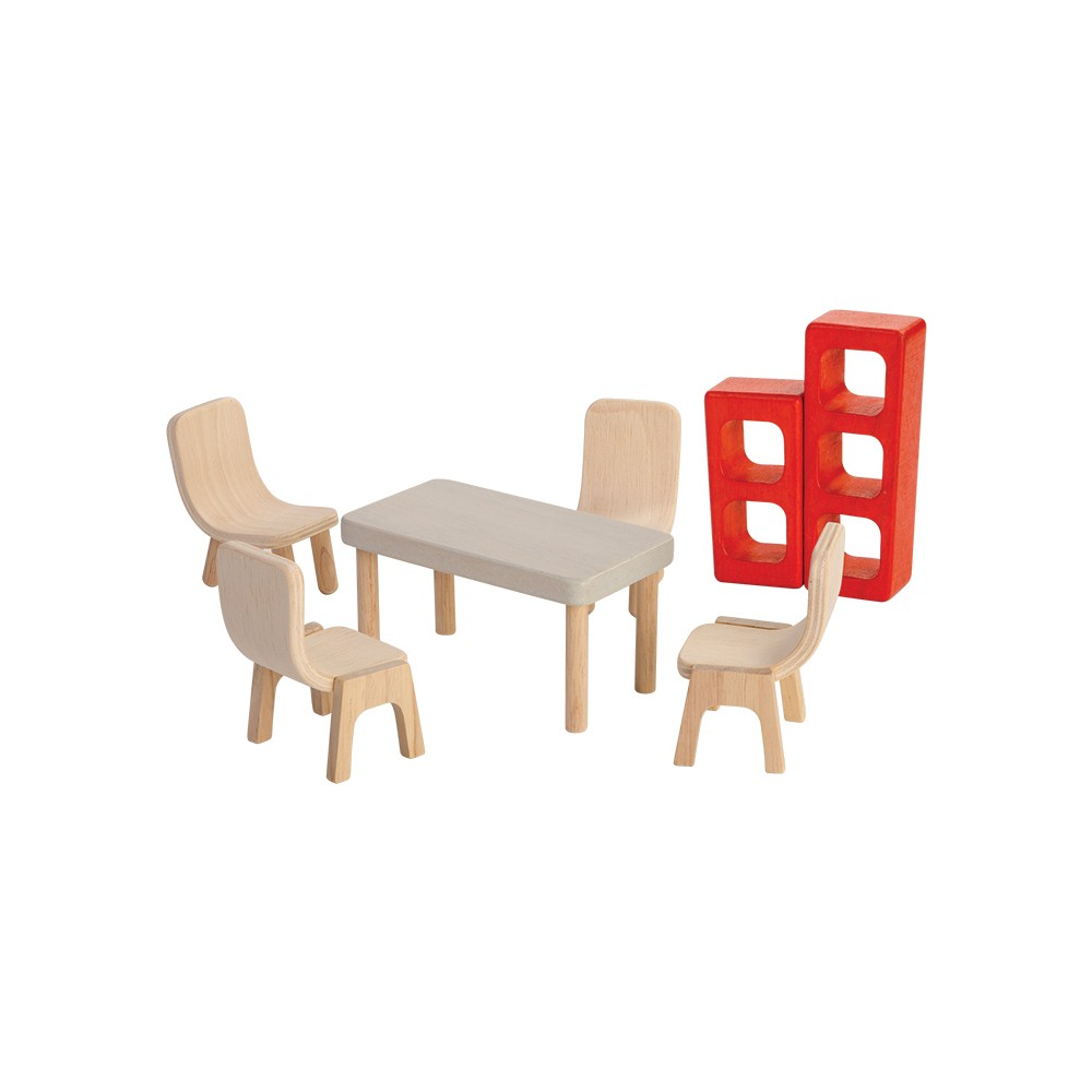 PlanToys Dining Room, Doll Furniture
