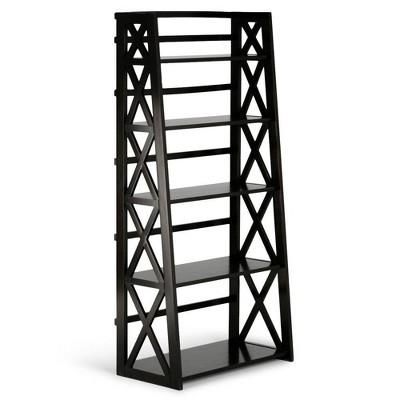 """63""""x30"""" Waterloo Ladder Shelf Brown - WyndenHall"""