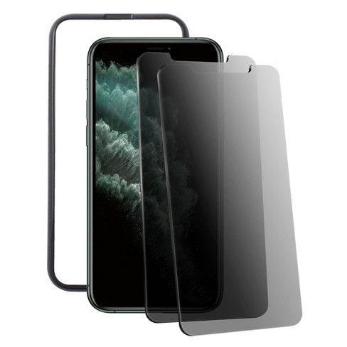 Insten 2-Pack For Apple iPhone 11 Pro Max Privacy Anti-Spy Tempered Glass Screen Protector - image 1 of 3