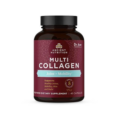Ancient Nutrition Multi Collagen Joint + Mobility Capsules - 45ct