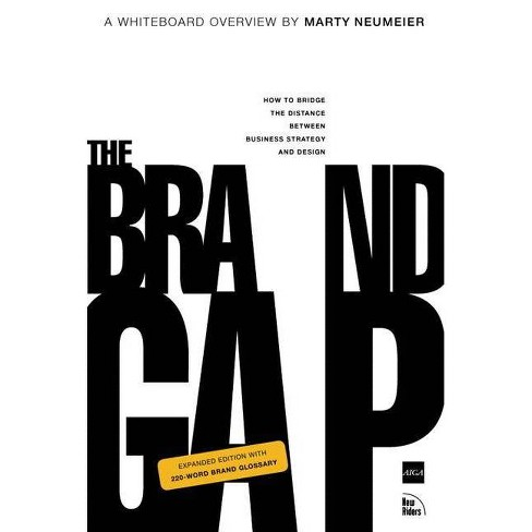 The Brand Gap - (Aiga Design Press) 2 Edition by  Marty Neumeier (Paperback) - image 1 of 1