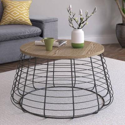 Morris Coffee Table Black - Click Decor