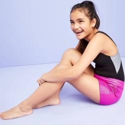 Girls' Gymnastic Elite Shorts - More Than Magic™ Pink
