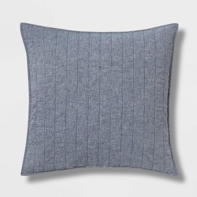 Chambray Linen Blend Sham - Threshold™