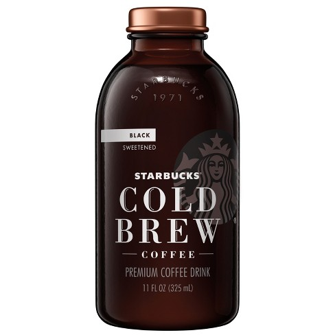 Starbucks Cold Brew Sweetened - 11 fl oz Glass Bottle - image 1 of 2
