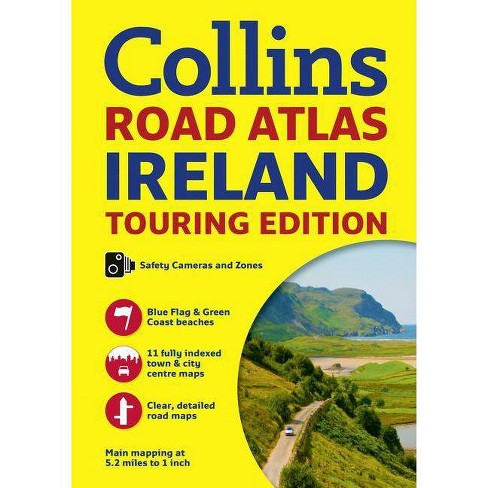 Collins Road Atlas Ireland: Touring Edition - (Paperback) - image 1 of 1