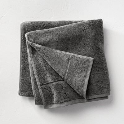 Modal Bath Towel Dark Gray - Casaluna™