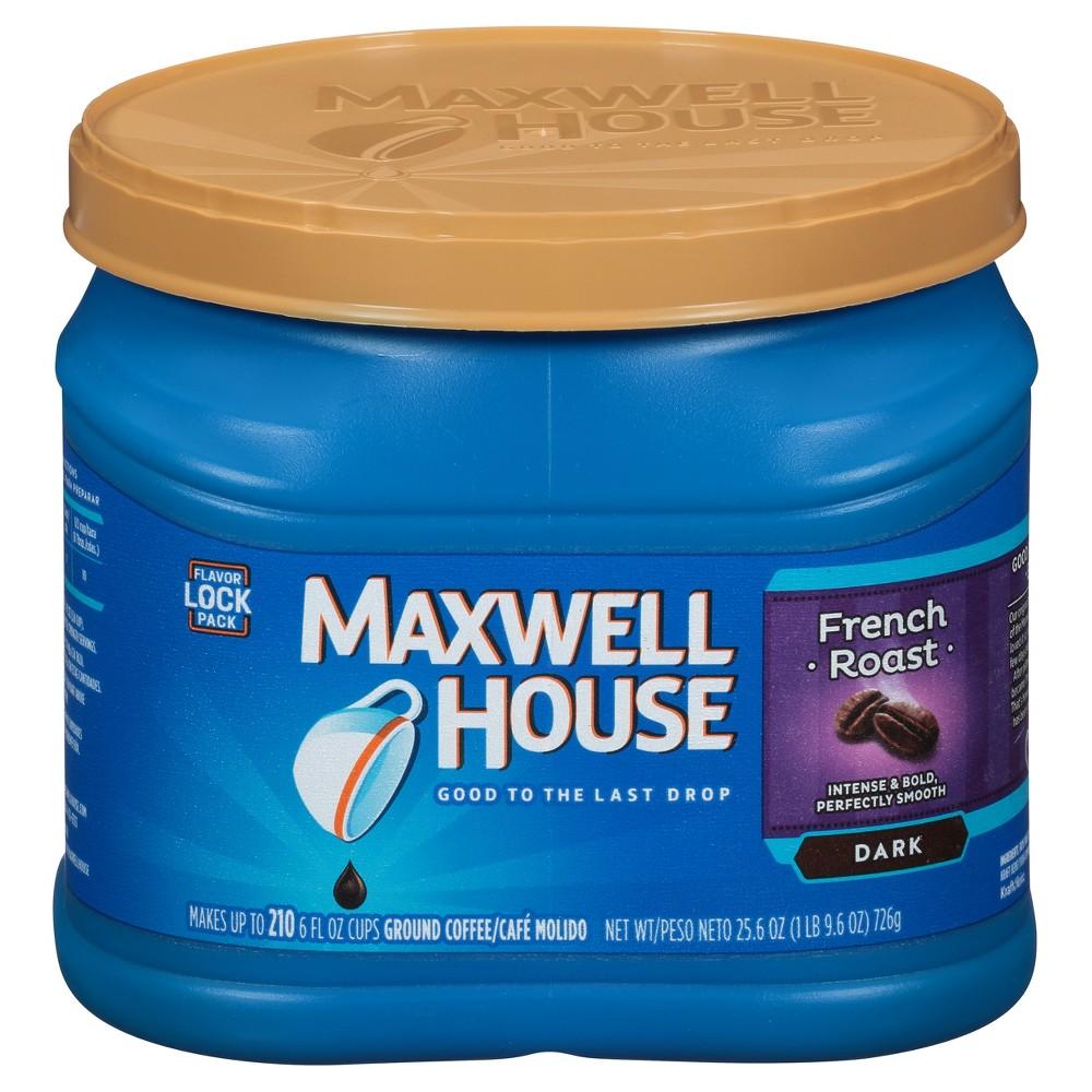 Maxwell House French Medium Dark Roast Ground Coffee 25 6oz