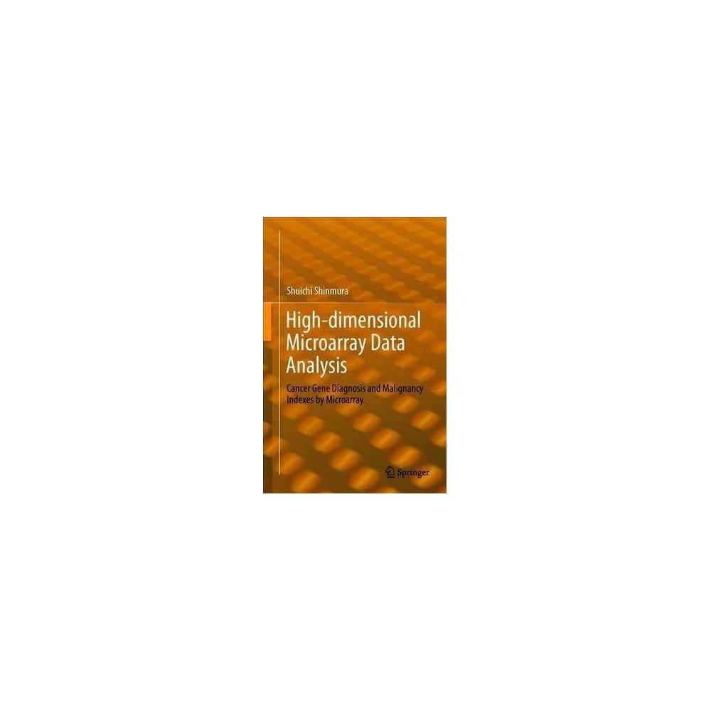 High-dimensional Microarray Data Analysis - by Shuichi Shinmura (Hardcover)
