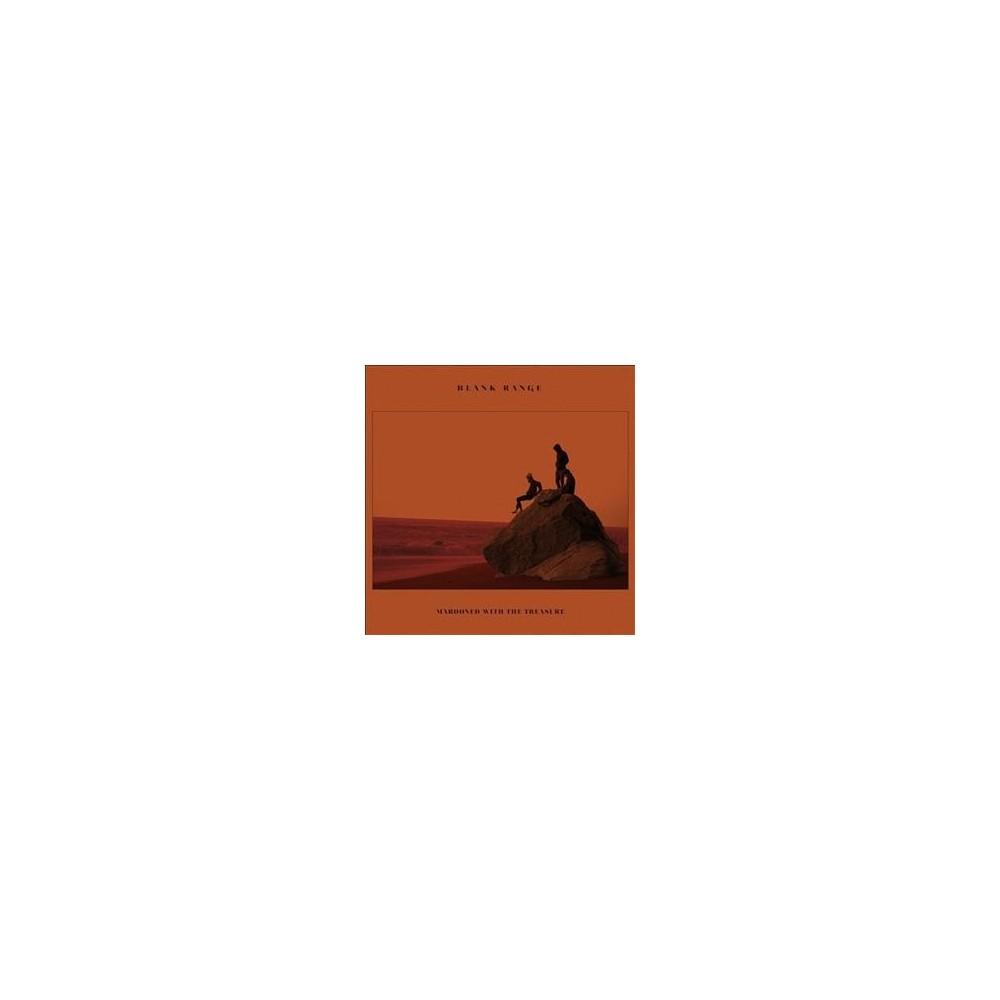 Blank Range - Marooned With The Treasure (CD)