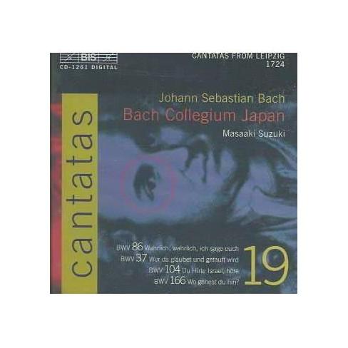 Bach Collegium Japan - Bach: Cantatas Vol. 19 (CD) - image 1 of 1
