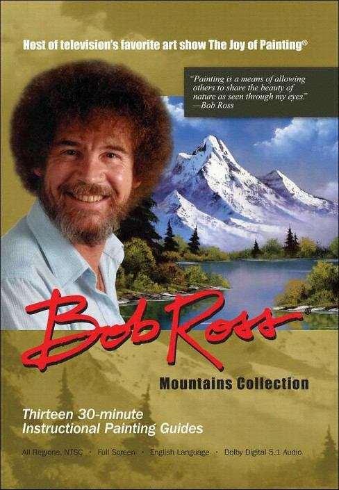 Joy of painting:Mountains (DVD) - image 1 of 1