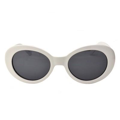 e889e8168d7e Unisex Vintage style Retro sunglasses - Wild Fable™ White