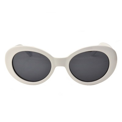 d67872b35f9a Unisex Vintage style Retro sunglasses - Wild Fable™ White
