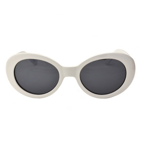 c86a98f5d6 Unisex Vintage Style Retro Sunglasses - Wild Fable™ White   Target