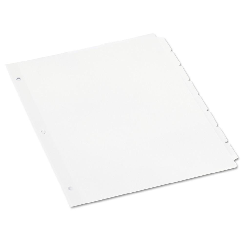 Universal Economy Tab Dividers, 5-Tab, Letter, White, 36 Sets/Box (20835)