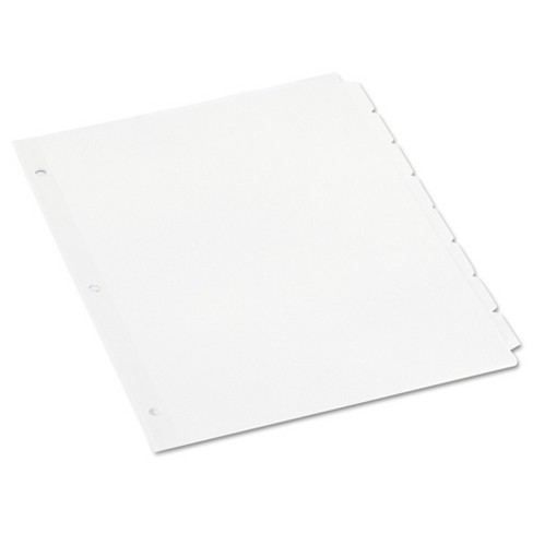 Universal® Economy Tab Dividers - image 1 of 4