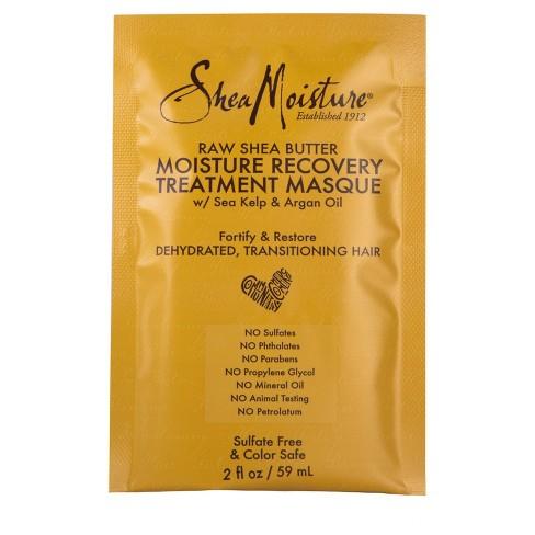 SheaMoisture Raw Shea Butter Moisture Recovery Treatment Masque - 2 fl oz - image 1 of 4