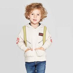 Toddler Boys' Ghostbusters Photon Pack Hooded Sweatshirt - Beige