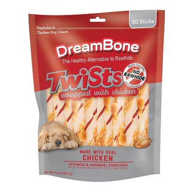 Dreambone Chicken Wrapped twists -30 ct