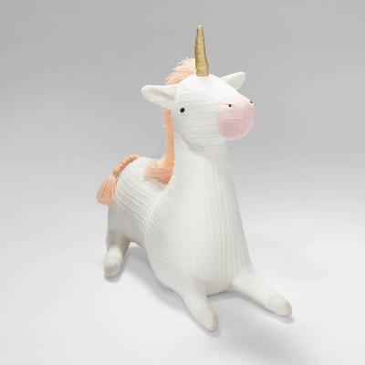 Unicorn Figural Throw Pillow - Pillowfort™
