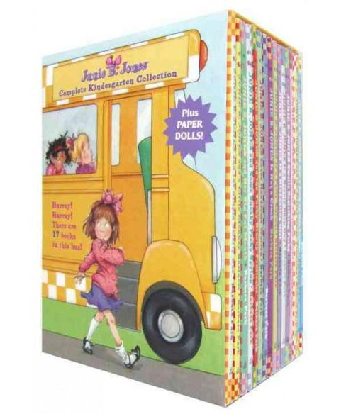 Junie B. Jones Complete Kindergarten Collection : Books 1-17 With Paper Dolls in Boxed Set (Paperback) - image 1 of 1