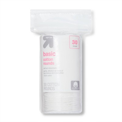 Basic Cotton Rounds - 30ct - up & up™