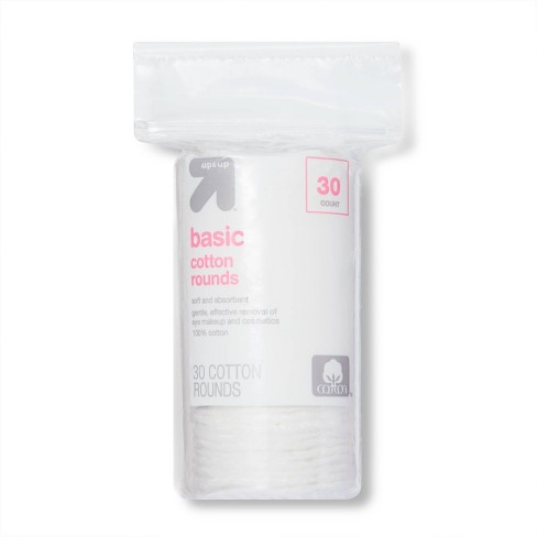 Basic Cotton Rounds - 30ct - up & up™ - image 1 of 3