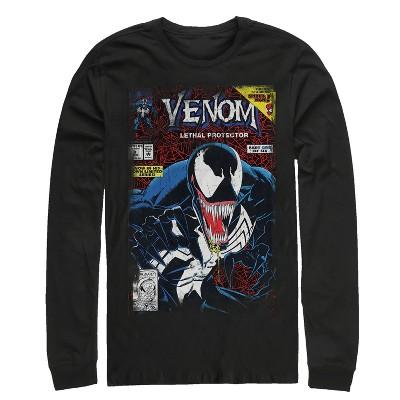 Men's Marvel Venom Lethal Protector Long Sleeve Shirt