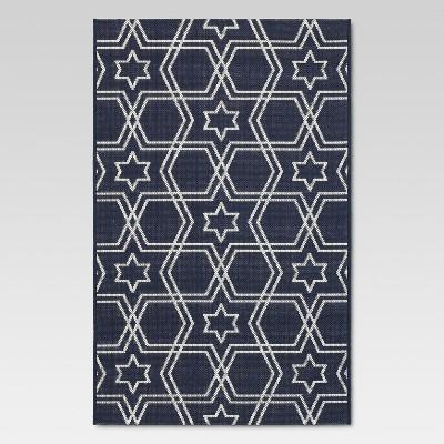 Holiday 30 x50  Outdoor Rug - Blue - Threshold™