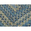 Ridgevale Spacedye Wool Braided Area Rug - Whipple Blue - (7'x9') - Colonial Mills - image 2 of 4