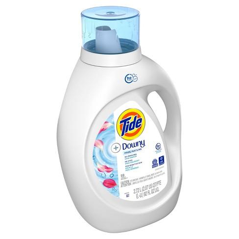 Tide +Downy Free Liquid Laundry Detergent - 92 fl oz - image 1 of 3