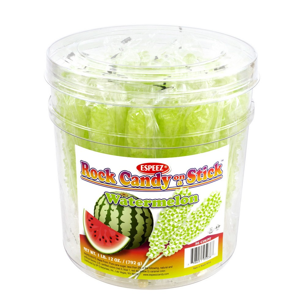 Espeez Watermelon Rock Candy - 12oz