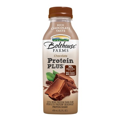 Bolthouse Farms Chocolate Protein Plus Shake - 15.2oz
