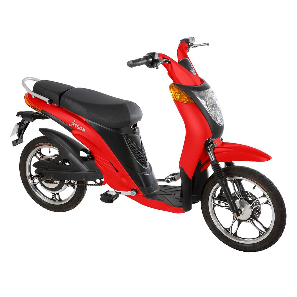 Jetson Electric Bike - Classic Red