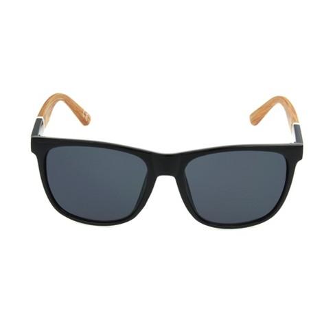 b3dff878e1c26 Men s Surf Sunglasses - Goodfellow   Co™ Black   Target