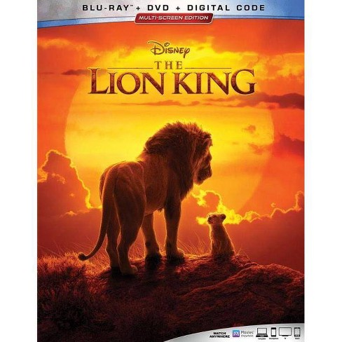 The Lion King (2019) (Blu-Ray + DVD + Digital)