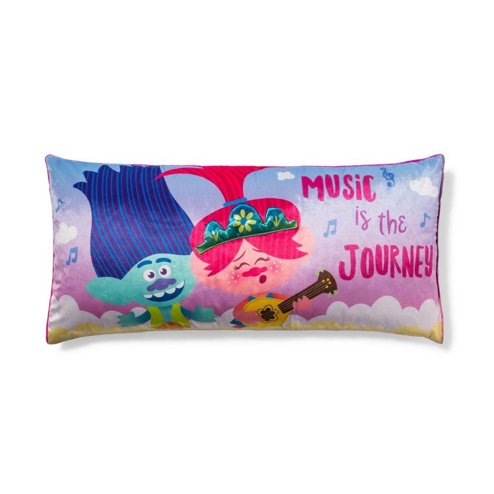 Image of Trolls World Tour Poppy Serenade Body Pillow