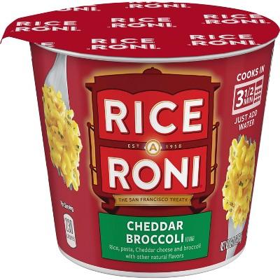 Rice-A-Roni A Roni Cheddar Broccoli Rice Cup - 2.11oz