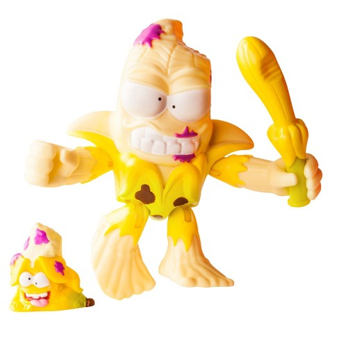 The Grossery Gang Action Figure - Squished Banana - image 1 of 5