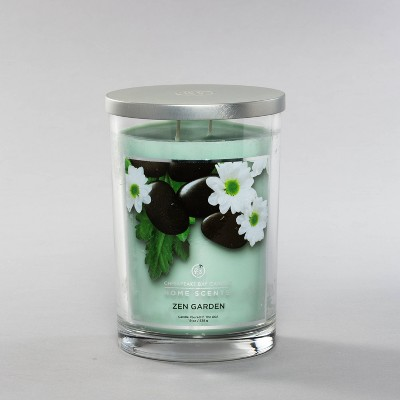 19oz Glass Jar 2-Wick Candle Zen Garden - Home Scents by Chesapeake Bay Candle