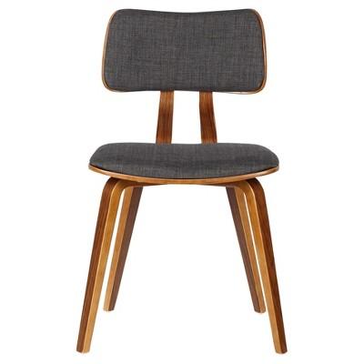 Jaguar Mid - Century Dining Chair - Charcoal - Armen Living