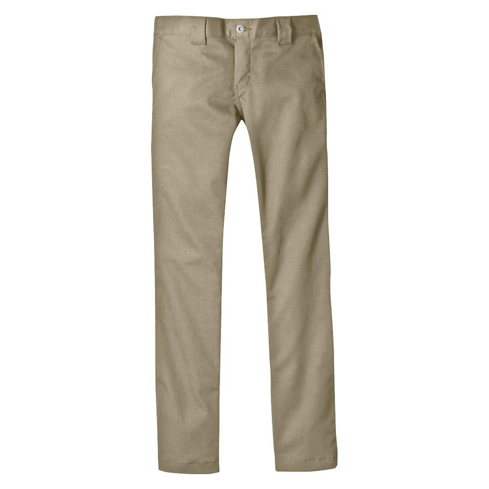 Dickies Boys' Skinny Straight Pants - Khaki (Green) 12