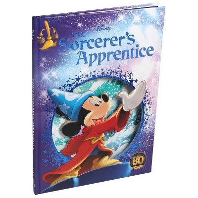 Disney: Mickey Mouse the Sorcerer's Apprentice - (Disney Die-Cut Classics)(Hardcover)
