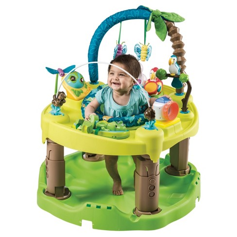 Evenflo ExerSaucer Triple Fun Entertainer Life In The Amazon - image 1 of 6