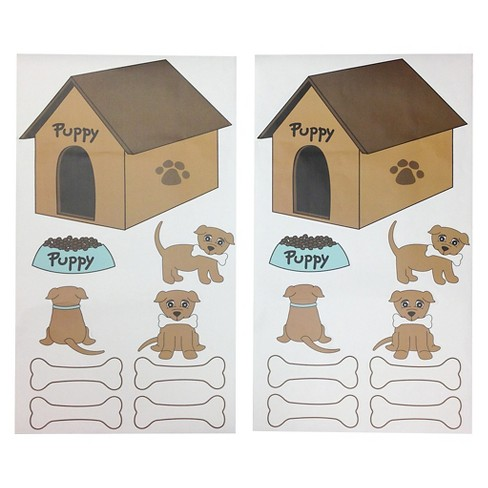 """One Grace Place Puppy Pal Boy Wall Decals (20""""X36"""") - image 1 of 3"""