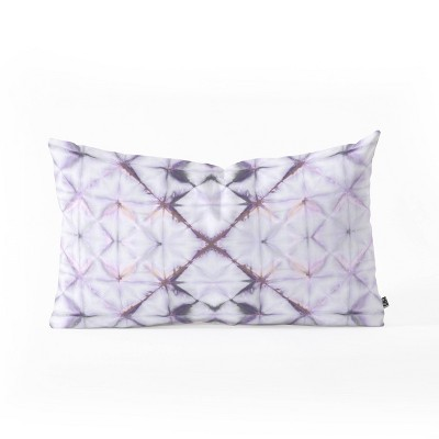 Amy Sia Tangier Purple Oblong Throw Pillow Purple - Deny Designs